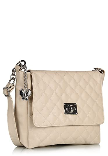 Butterflies Women's Sling Bag (Cream,BNS 0394): Amazon.in: Shoes ...