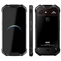 AGM X2 SE Triple Proofing Phone 6GB+64GB 5.5 inch 6000mAh Battery Android 7.1 Qualcomm Snapdragon 653 MSM8976SG Octa Core GSM & WCDMA & FDD-LTE (Black)