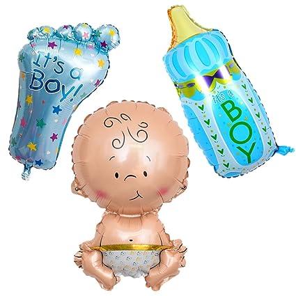 Glanzzeit Baby Babyflasche Fuß Geformte Luftballons Für