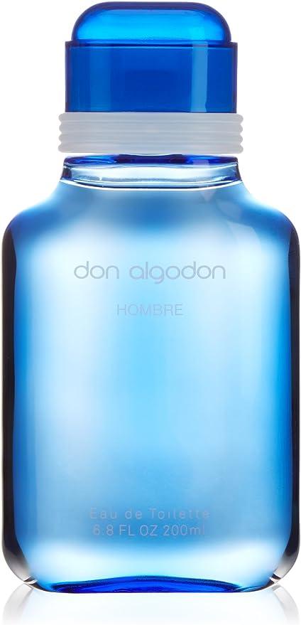 Don Algodón Hombre - Agua te tocador para hombre, 200 ml: Amazon ...