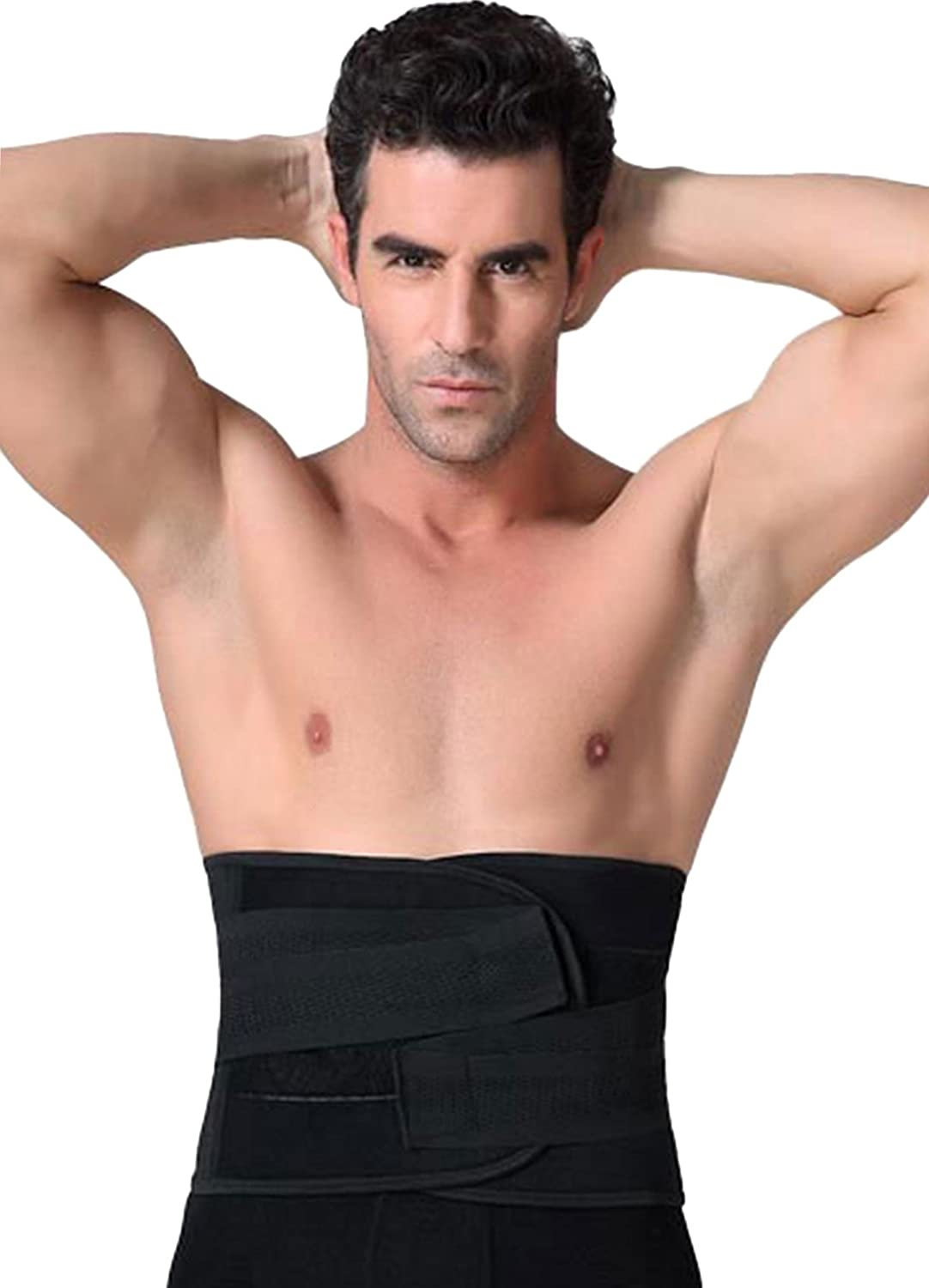 ac614d570b Panegy Men s Waist Trainer Girdle Beer Belly Trimmer Belt with ...