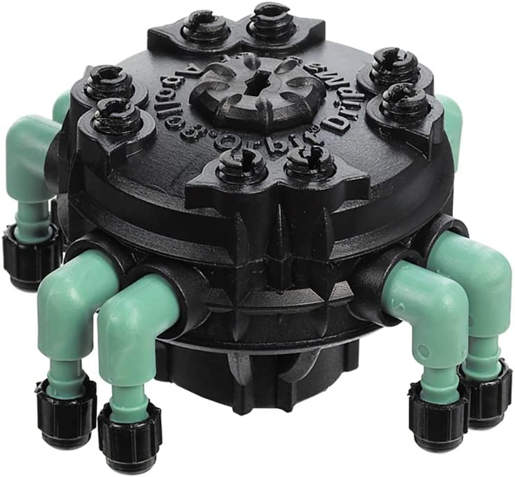 Orbit 69000D 8-Port Drip Manifold with Adjustable Flow