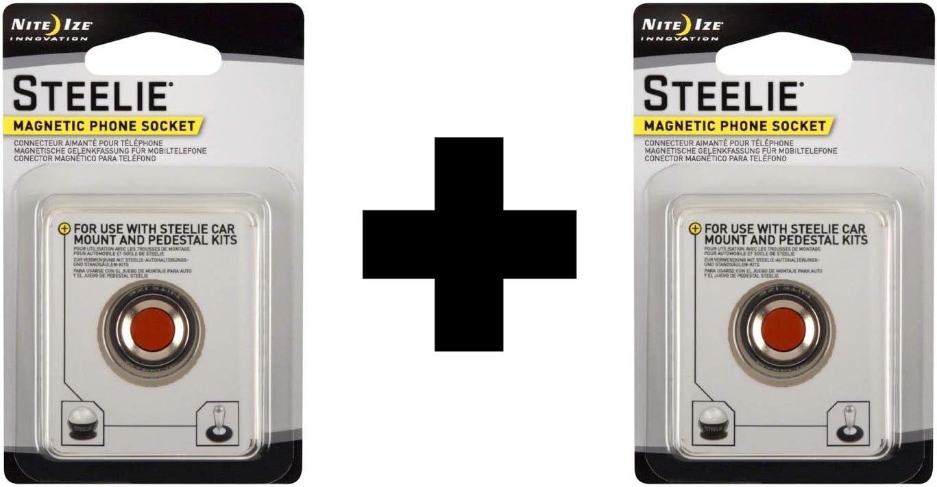 Nite Ize Stsm-11-R7 Steelie Small Magnetic Phone Socket