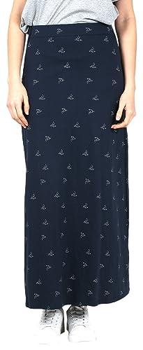 Tiralahilacha 208, Falda Casual para Mujer, Azul, 40 (Tamaño del Fabricante:M)