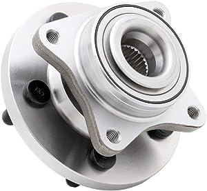 QJZ [1-Pack] 515067 - Front Wheel Hub Bearing Assembly for 2005-2009 LR3, 2010-2013 LR4, 2006-2013 Range Rover Sport, 5 Lugs Premium Wheel Hub