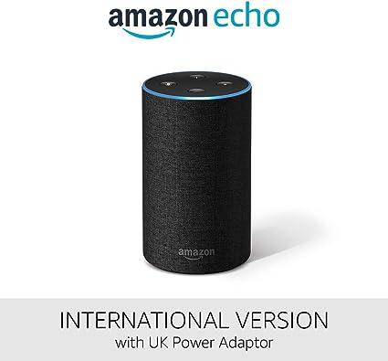 Amazon Echo International Version Alexa Voice Service Amazon Co Uk