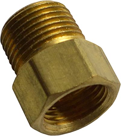 Pack of 10 Allstar ALL50142 5//8-18 Thread for 3//8 Fuel Line Zinc Plated Inverted Flare Nut,