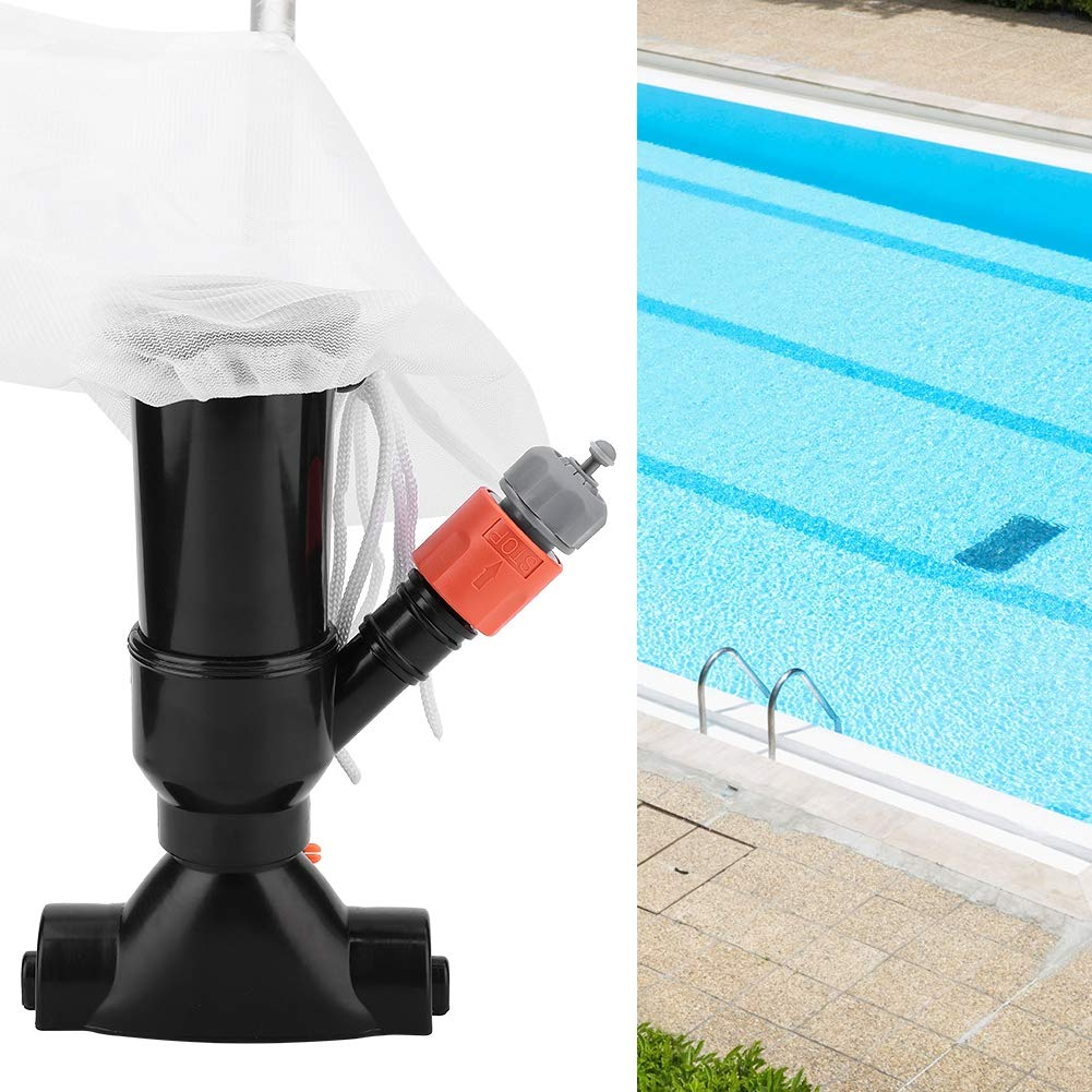 Acogedor Pressure Pool Cleaner,Portable Swimming Pool Cleaner Vacuum,Suction Head+Mesh Bag+Quick Connector+Handle Tube+Water Inlet,for Cleaning Swimming Pool, Spa, Pond, Fountain, etc. by Acogedor
