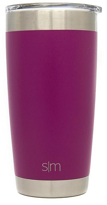 11 opinioni per Simple Modern Una tazza di corsa dell'acciaio inossidabile 20once con una tazza