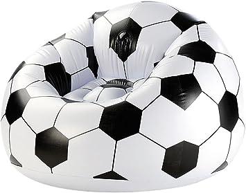 Amscan – 9900298 – Reposapiés hinchable de balón de fútbol ...