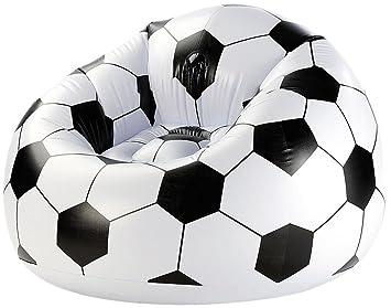Amscan - 9900298 - Reposapiés hinchable de balón de fútbol: Amazon ...