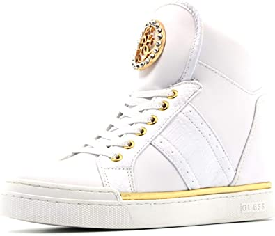 guess high top trainers