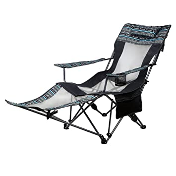 Hmdx Plein Air Chaises Pliantes Inclinable Portable Réglable Chaise