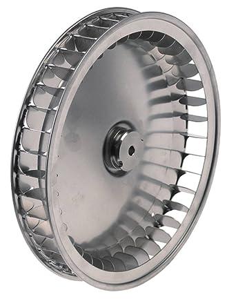 Rueda de ventilador para horno de aire caliente Unox XF113, XF133 ...