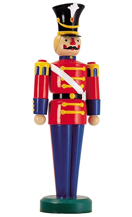 Outdoor Toy Soldier Christmas Decorations.Amazon Com Large Life Size Soldier Outdoor Christmas