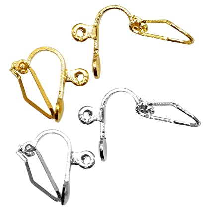 9404f73ed Image Unavailable. Image not available for. Color: 60 Pair Clip-On Earring  Converter ...