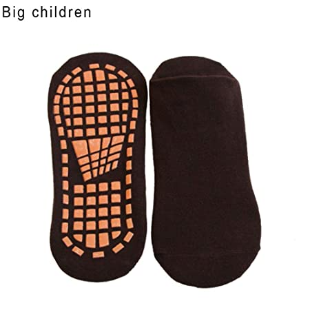 precauti Hombre Mujer Calcetines Antideslizantes de Deporte Calcetines Antideslizantes para niños niñas Calcetines de Deporte para Piso Deslizadizo ...