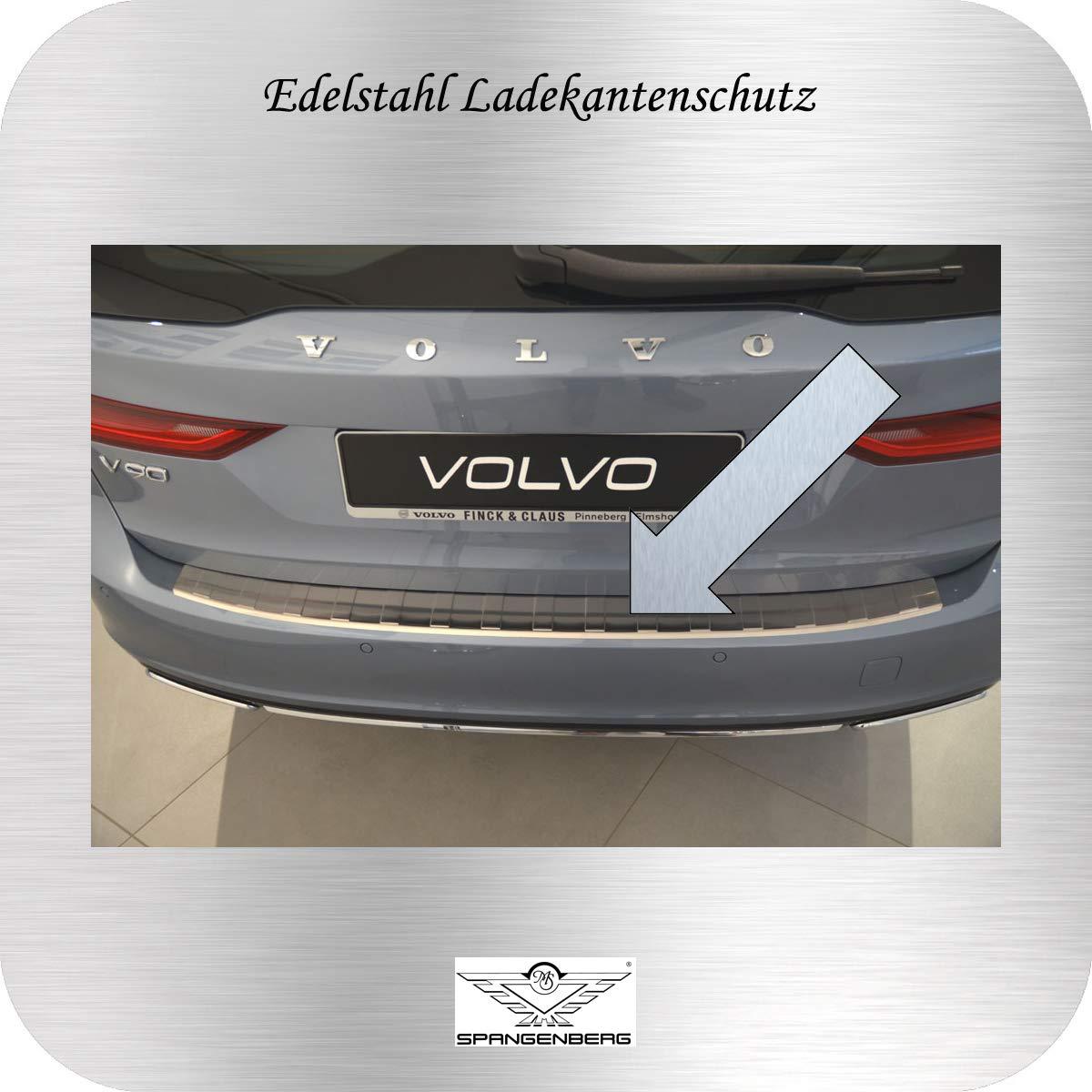 Spangenberg Volvo V90 II Break Protection de seuil de Chargement en Acier Inoxydable /à partir de lann/ée de Construction 03.2016 3235578