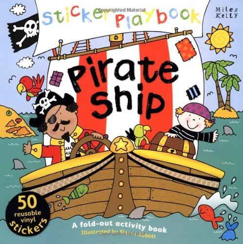 Sticker Playbook - Pirate Ship (Playbooks) (Ship Sticker Pirate Activity)