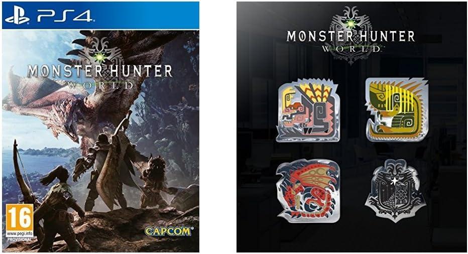 Monster Hunter World (Xbox One) + PINS Monster Hunter World: Amazon.es: Videojuegos
