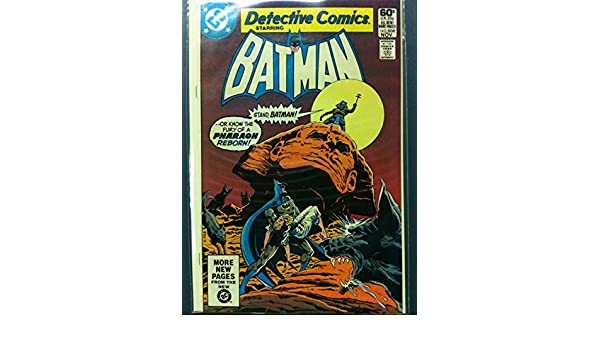DETECTIVE COMICS ft: BATMAN & ROBIN #508 Secret of the Sphinx Sinister Nov 81 Very Fine (8 out of 10) Very Lightly Used by Mickeys Pubs at Amazons ...
