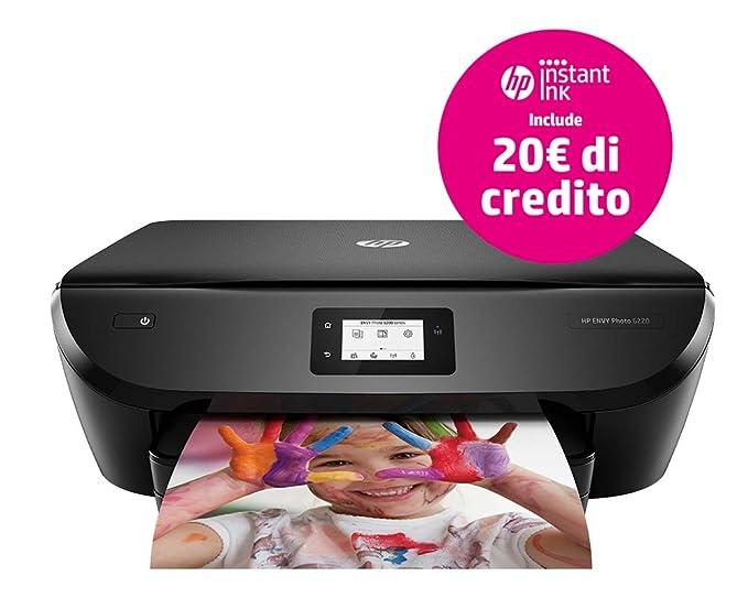 HP Envy 6220 4800 x 1200DPI Inyección de Tinta térmica A4 12ppm WiFi - Impresora multifunción (Inyección de Tinta térmica, 4800 x 1200 dpi, 125 Hojas, ...