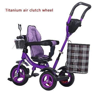 Childrens bike Bicicleta Titanium Wheels, Triciclo para Niños, Carro Ligero, Carro bebé para