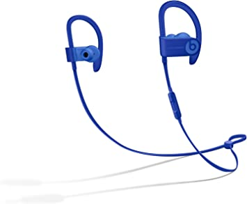 Amazon Com Beats Powerbeats3 Series Wireless Ear Hook Headphones Break Blue Mq362ll A Renewed Electronics
