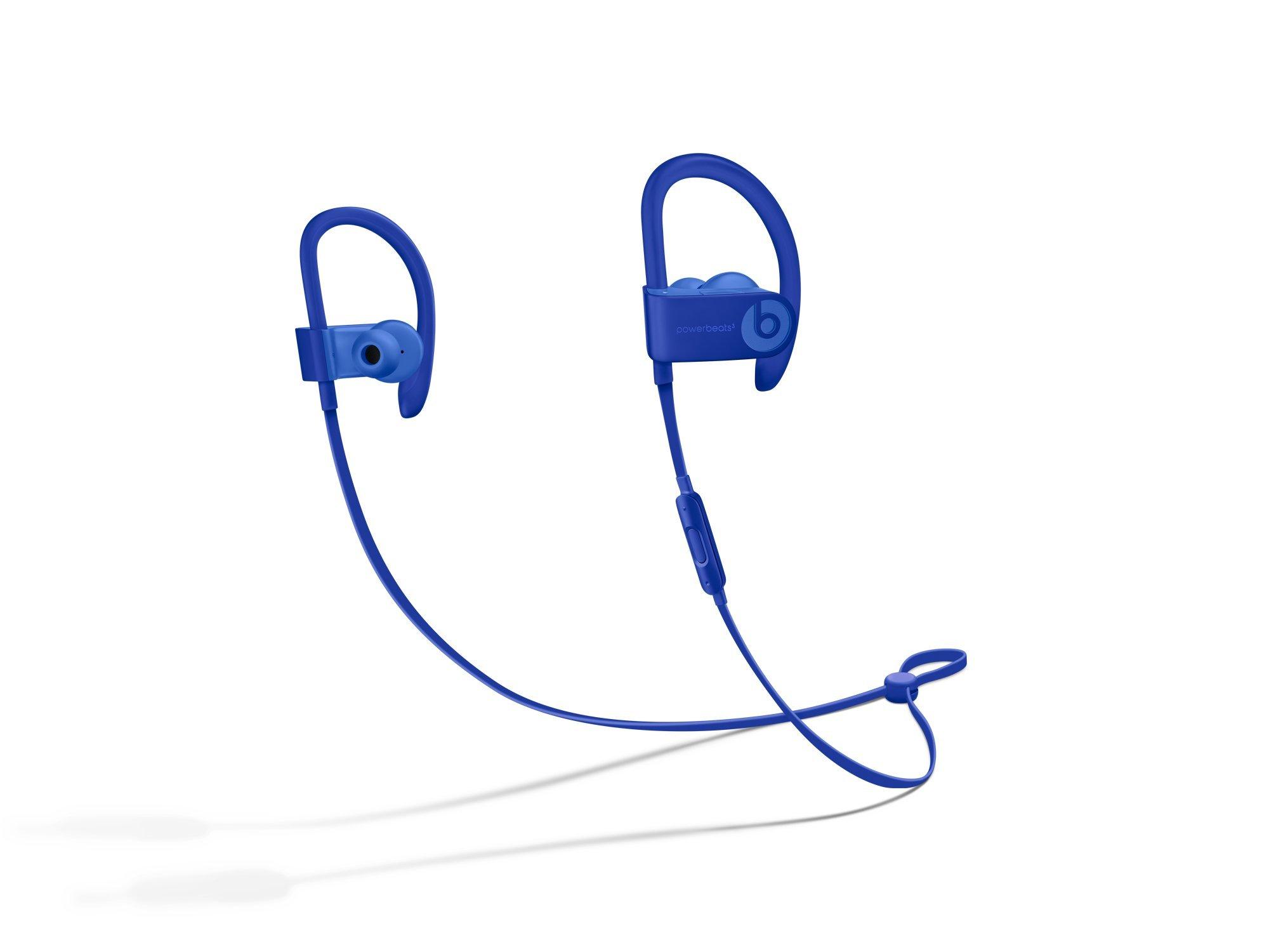 Beats Powerbeats3 Series Wireless Ear-Hook Headphones - Break Blue (MQ362LL/A) - (Renewed)