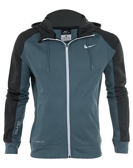 0d798679b08f Amazon.com  Nike Elite Stripe Performance Full-zip Basketball Hoodie Mens  Style   645087  Sports   Outdoors
