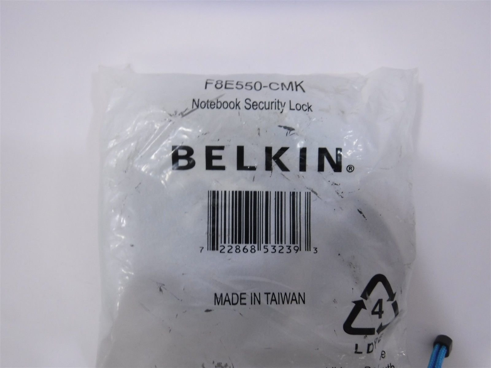 Belkin F8E550-CMK Notebook Security Lock, Master-Keyed