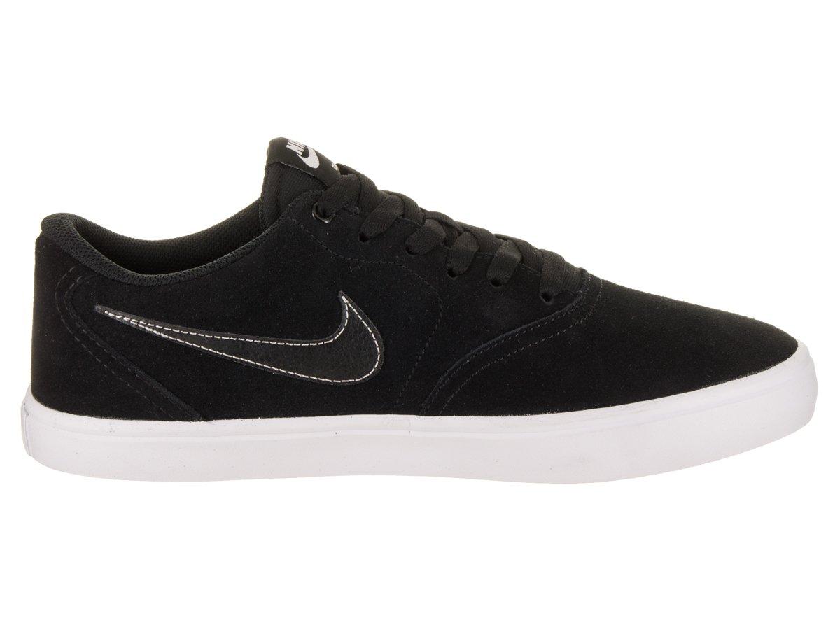 Nike Unisex SB Check Solar Black/Black White Skate Shoe 8.5 Men US / 10 Women US by Nike (Image #5)