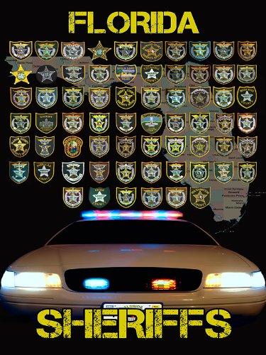 Florida Deputy Sheriff Poster Florida Police Poster 18X24 (FLSOV2)