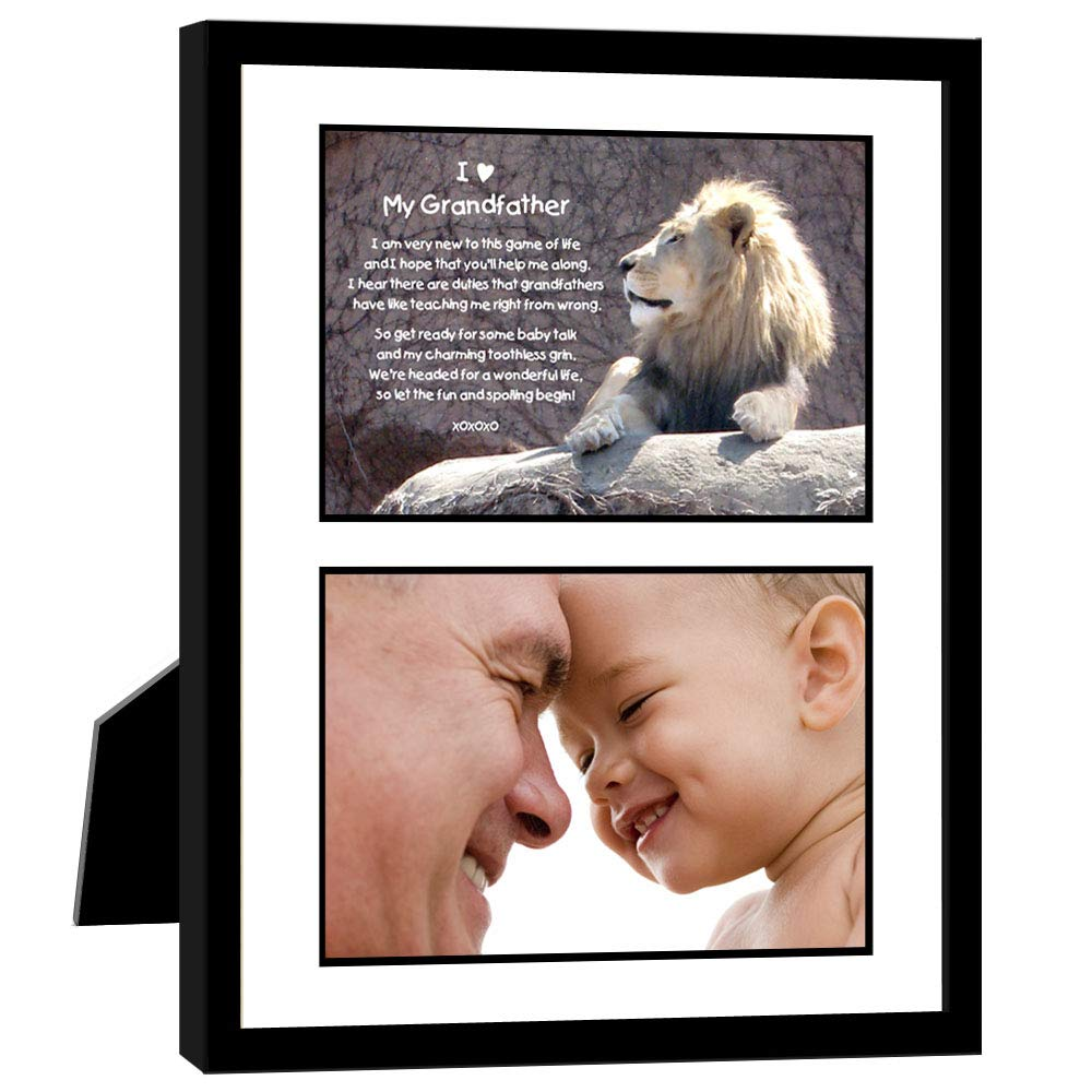Grandfather Birthday or Christmas Grandpa Gift, Add Photo by Poetry Gifts