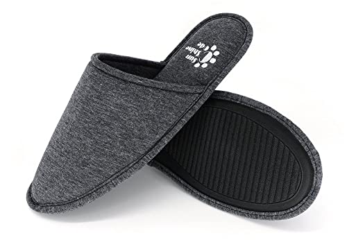 cd5cc576e78 Men s 4 Seasons Cotton Washable Slippers with Matching Travel Bag for Home  Hotel Spa Bedroom