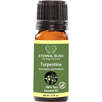 Buy Turpentine Essential Oil, 100% Pure, Undiluted (100ML) Online at