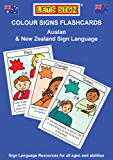 COLOUR Signs Flashcards: Auslan & New Zealand Sign Language (Let's Sign)
