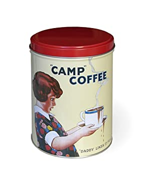Tin Kitchen Canisters | Tin Kitchen Canister Camp Coffee Storage Tin Amazon Co Uk