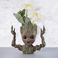 Zesta Guardians of The Galaxy Groot Action Figure / Toy / Pen Stand (Excited FACE) - GR0004