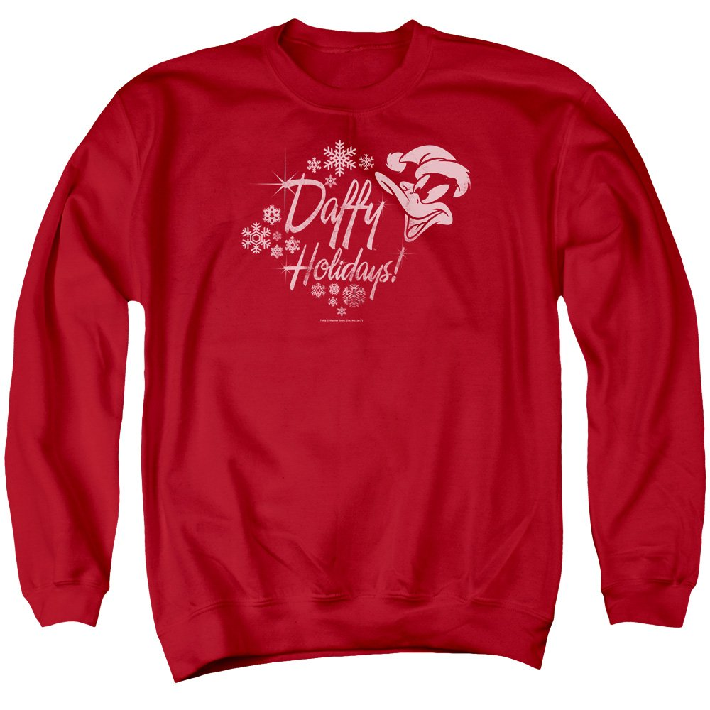 Looney Tunes - - Daffy Holidays Sweater für Männer
