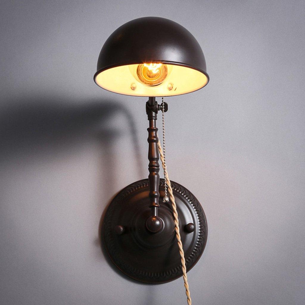 migliori prezzi e stili più freschi BD retro lampada da parete Vintage Vintage Vintage lampada da parete pieghevole Nordic telescopica regolabile lampada da parete di caffè  con il prezzo economico per ottenere la migliore marca