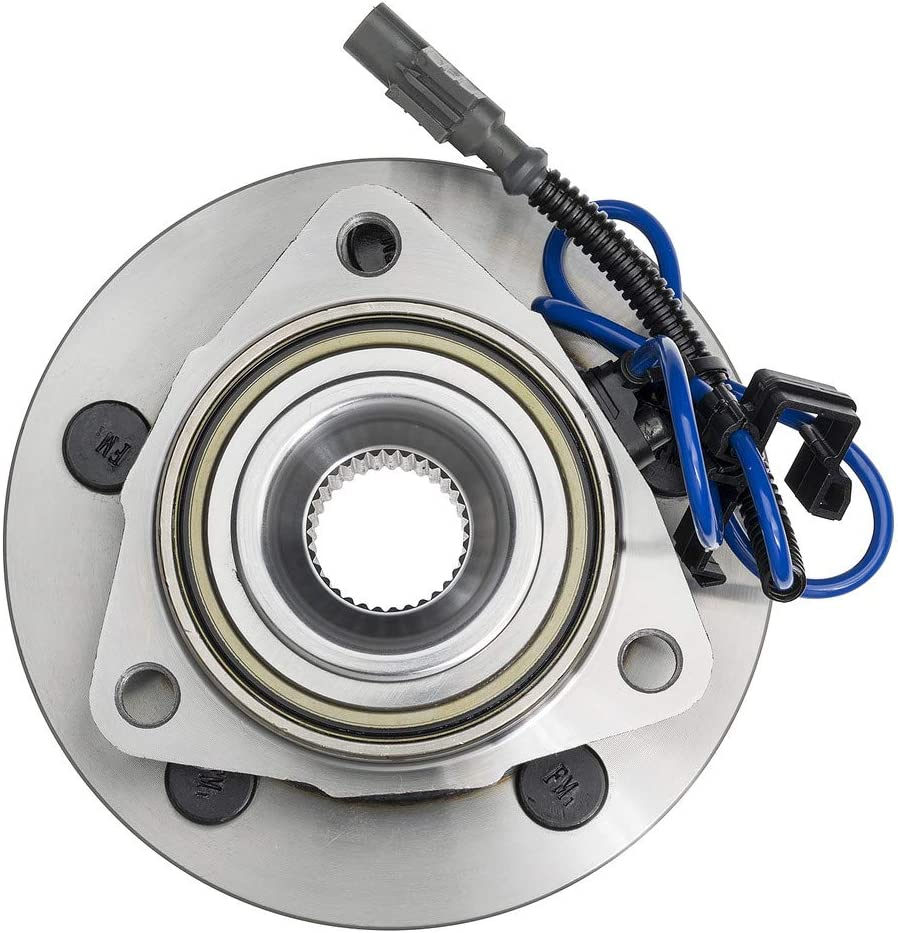 2006 fits Dodge Dakota Front Wheel Bearing and Hub Assembly - Two Bearings Note: 4WD, RWD 4-Wheel ABS Left and Right Included with Two Years Warranty
