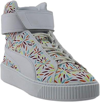 puma donna scarpe platform mid
