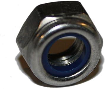 selbstsichernde Stopmutter Sicherungs M4 Sicherungsmuttern DIN 985 verzinkte 8