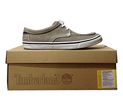 759caad512e6 Timberland 5015R Earthkeeper Hookset Camp Oxford Beige Canvas Shoes Mens  (UK 9 EU 43.5