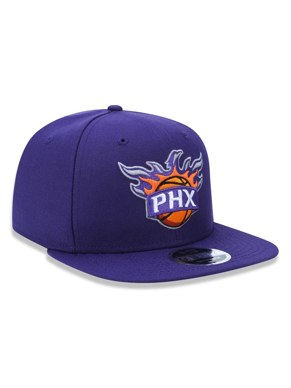 bb1b6e4a99606 BONE 950 ORIGINAL FIT PHOENIX SUNS NBA ABA RETA SNAPBACK ROXO NEW ERA   Amazon.com.br  Amazon Moda
