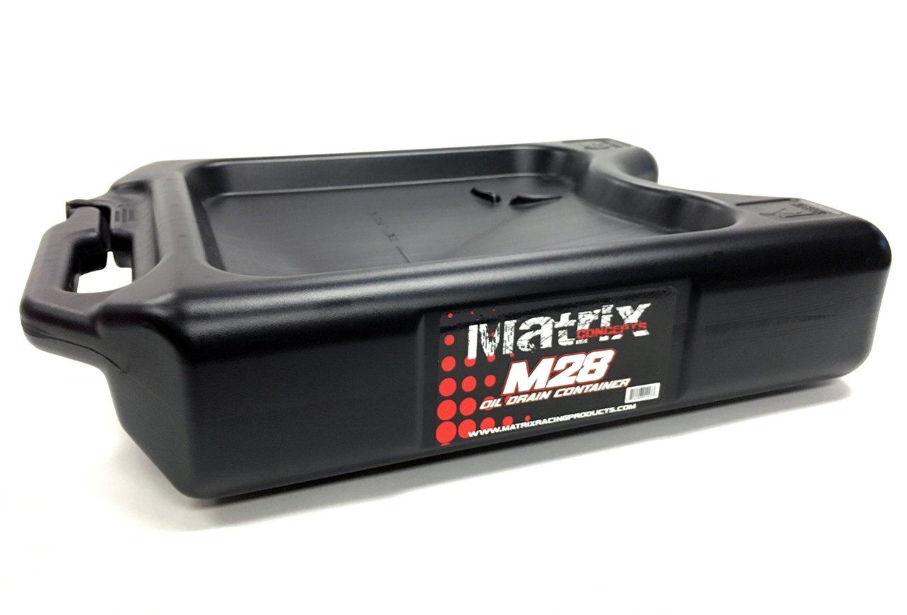 Matriz conceptos M28 - 102 M28 negro 11 Quart contenedor de ...