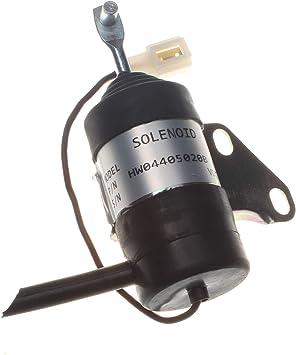 6670776 Shut Off Solenoid For Bobcat 319 320 322 323 E08 E10 E14 E16 453 463