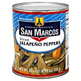 San Marcos Sliced Jalapeno Peppers 26 Oz (Pack of 4)