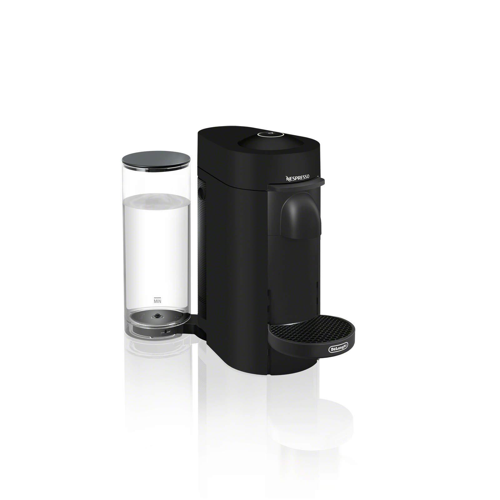 Nespresso ENV150BM VertuoPlus Coffee and Espresso Machine by De'Longhi, Black Matte (Renewed) by Nestle Nespresso